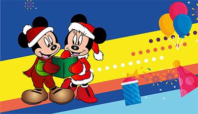 Микки и Минни ждут ребят на Новогоднюю елку!