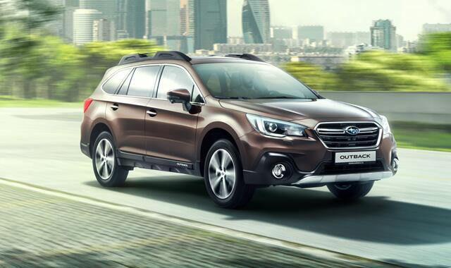 Subaru Outback – лучший универсал повышенной проходимости по итогам премии «Автомобиль года в России».