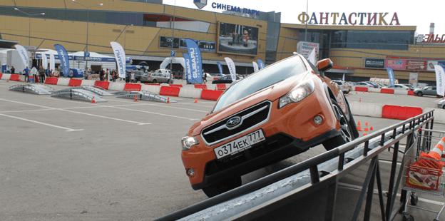 SUBARU ROAD SHOW в Нижнем Новгороде