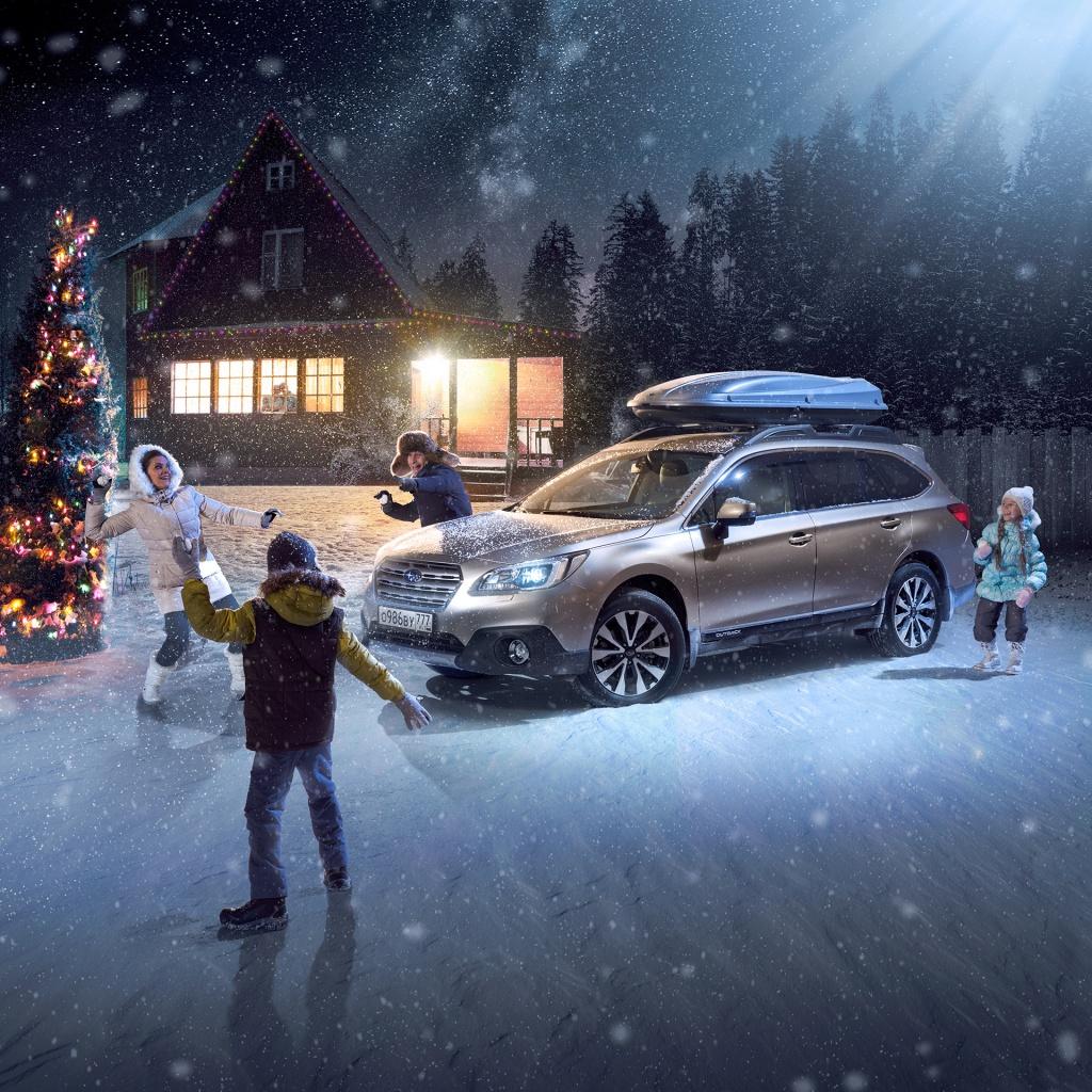 Новогодняя выгода на Subaru Outback
