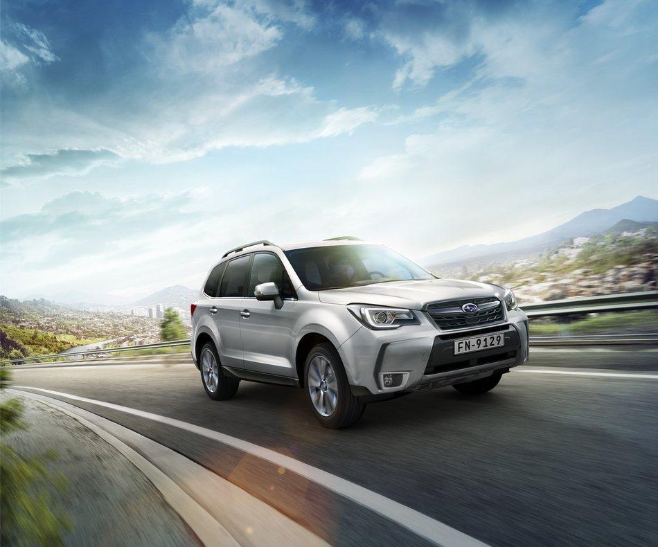 Новые цены Subaru Forester